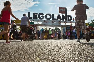Thrill-seekers descending on LEGOLAND....