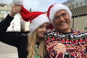 Cherry Healey and Gregg Wallace. Picture: BBC