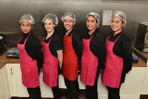 Staff at SukanThai Food, Elland