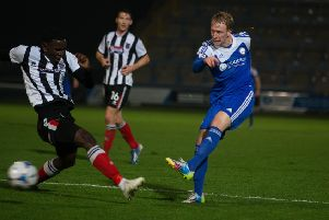 Scott Boden could be in line to face his former club Halifax for Chesterfield