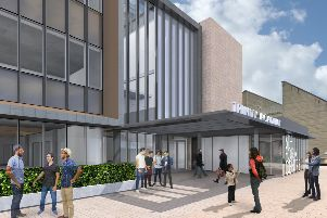How Halifax sixth form centre and retail complex will look (picture: LDN Architects)
