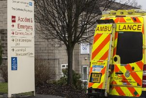 Accident and Emergency Department at Calderdale Royal hospital