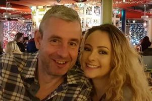 Mark Hague, pictured with his daughter Holly.