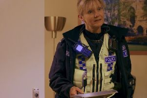 PC Laura Gargett is among the officers featured in the new series.