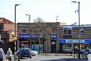 CCTV has been installed around the centre of Conisbrough. Church Street, pictured. Picture: NDFP-16-02-19-CCTVConisbrough-1