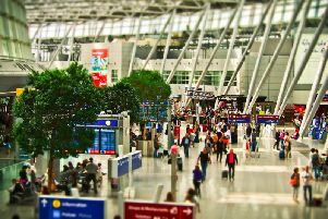 A no deal Brexit could cause long delays at airports