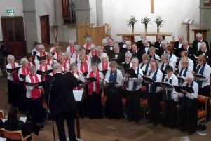 The Overgate Hospice Choir held its 26th Annual Hymn Sing in Brighouse Central Methodist Church on Saturday 10 March. Claire Stafford was the guest soprano soloist, David Houlder played the organ and the conductor was Dr Simon Lindley.''During the evening a cheque for �10,000 was presented by the Chairman, Carol Armitage to Karen Crowther, Director of Finance of Overgate Hospice. The cheque brought the total raised from the Choir's four concerts in 2017 to �18,500.''Carol Armitage''Mob 07802 227325