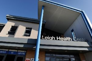 The walk-in centre in Leigh