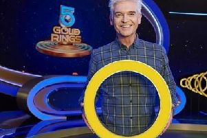 5 Gold Rings is hosted by Phillip Schofield. Picture: ITV