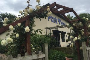 The Park View cafe in Lytham was among the latest to be targeted