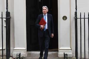 Chancellor Philip Hammond pictured before the Spring Statement