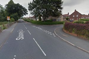 Stoney Lane in Lightcliffe where the school girl was attacked (Google Street View)