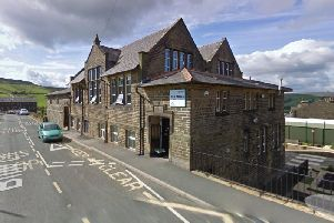 Old Town Primary School in Hebden Bridge (Google Street View)