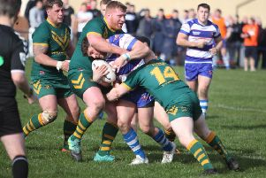 Freddy Walker for Siddal against Hunslet Parkside