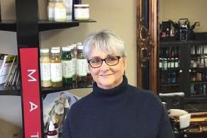 Susan Slater, Salon Owner, Headquarters, Mytholmroyd