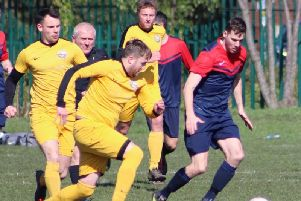 Action from Anchorsholme in New Albert in the Sunday Alliance Picture: KAREN TEBBUTT