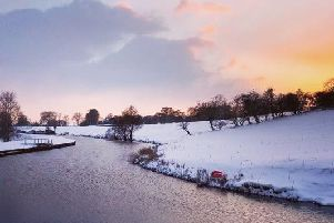 The winning photograph of the Leeds and Liverpool Canal by Graham Denney