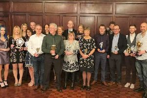 Halifax Harriers annual dinner and prize presentation