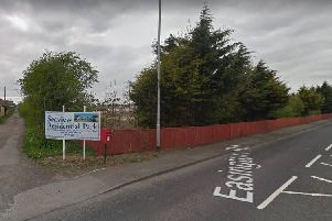 Entrance to the site off Easington Road, Hartlepool. Picture: Google.