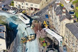 Queensbury photographer Gary Brown (www.rotorgraph.co.uk) captured this aerial picture