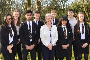 A Halifax school has plenty to celebrate after it received a national award for last year's GCSE results