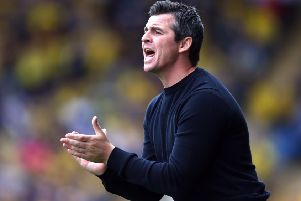 Fleetwood Town boss Joey Barton, who is still under investigation by police. (PHOTO BY: Getty Images).