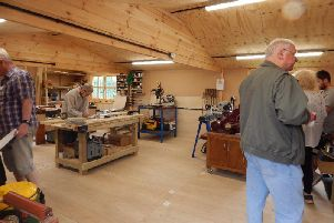 Harthill Workbench is holding an open day this weekend.