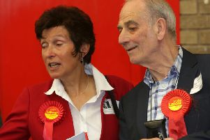 Councillor Jenny Lynn (Lab, Town) left