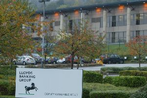 The Lloyds data centre in Copley, Calderdale