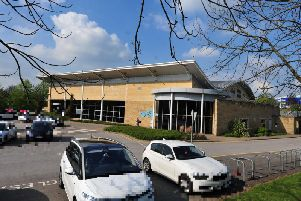 A 17-year-old boy has been arrested following a stabbing outside Harrogate's Hydro leisure facility.