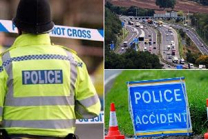 Two police incidents have closed the M62