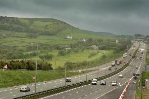 Police officers have released a statement on the M62 incident