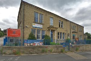The former Hipperholme Grammar School on Wakefield Road (Google Street View)