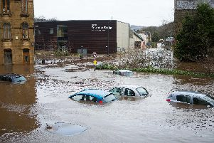 Boxing Day floods 2015 on Sowerby Bridge