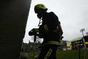 Firefighters were called to Cavendish Terrace
