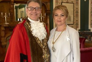 A year in pictures of the retiring Mayor of Calderdale Marcus Thompson
