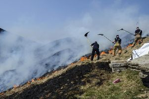 Calderdale Council is considering banning barbecues and fires in the countryside (SWNS)
