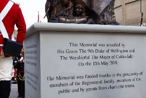 """Dukes memorial: """"It's going to be the pride of Halifax I hope"""" - statue unveiled in Halifax"""