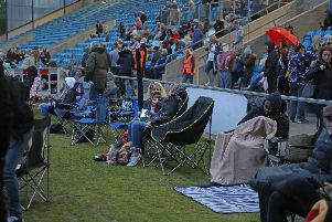 14 photos from the Bohemian Rhapsody Outdoor Cinema event at The Shay Stadium