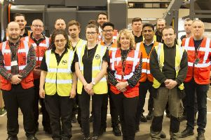 Staff from Elland company A-Safe