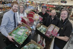 Aldi store food donations