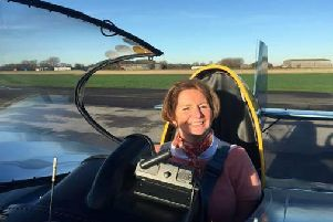 Halifax pilot swaps cockpit for the skies by taking part in skydive which raised 7,030