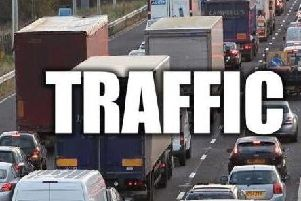 Drivers have been asked to allow up to 45 minutes travel time for their journeys this morning.