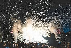 Biffy Clyro delivered a sensational show at Scarborough Open Air Theatre.