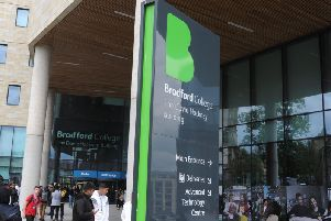 Staff at Bradford College will go on a three day strike in a row over pay and jobs.