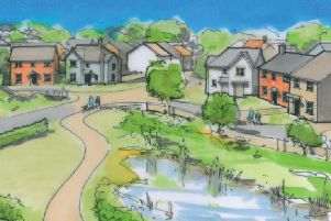 An illustration of the homes (Gladman Developments)