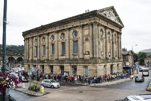 The next free taster tour at Todmorden Town Hall is on Sunday,July 7