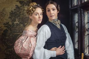 Sophie Rundle and Suranne Jones. Picture: Lookout Point/HBO