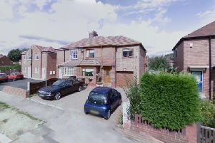 The semi-detached property, at 14 Oak Avenue, Stanley, could be transformed into four flats if plans are approved.Picture: Google Maps