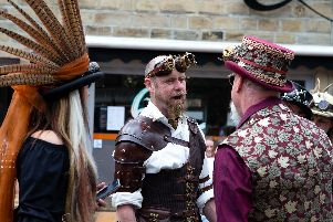 21 wonderful pictures from Hebden Bridge Steampunk Weekend